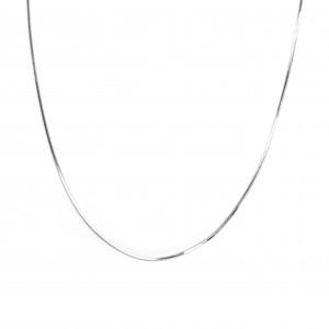 Silver 925 Necklace Female platinum plated in Silver Color No45-40 AJ (AL0002A)