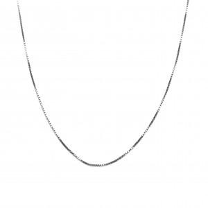 Silver 925 Necklace Feminine platinum plated in Silver No45-40 AJ (AL0003A)
