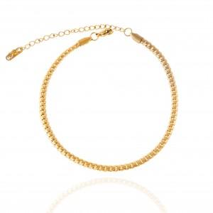 Steel Chain Pink in Gold AJ (APK0005X)