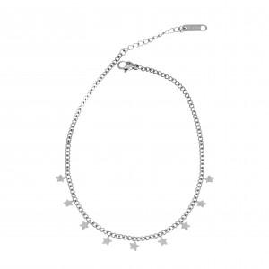 Steel Chain Chain in Silver AJ (APK0009A)