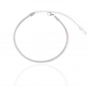Women's Chain-Steel Chain in Silver AJ (APK0009A)