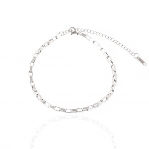 Stainless Steel Foot Chain in Silver AJ (APK0015A)