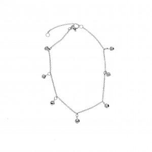Steel Chain Chain in Silver AJ (APK0020A)