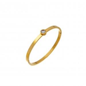 Women's Steel Bracelet-Steel in Yellow Gold AJ (BK0142X)