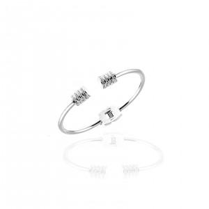 Women's Bracelet from Steel to Silver AJ (BK0029A)