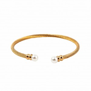 Women's bracelet with stainless steel in gold color BK0034X