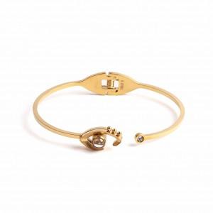 Women's Surgical Steel Bracelet in Yellow Gold AJ (BK0054X)
