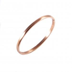 Women's Bracelet With Steel Option In Pink Gold AJ (BK0076RX)