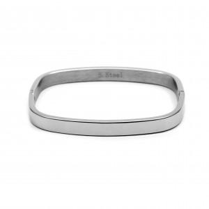 Women's Handmade Steel Handle in Silver Color AJ (BK0082A)
