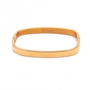 Women's Bracelet With Steel Opens In Gold color AJ (BK0082X)