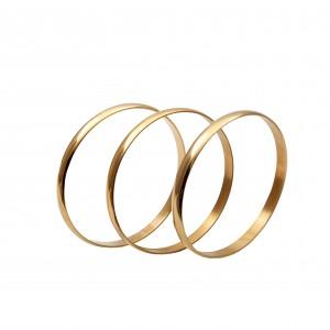 Bars-Bracelets from Steel to Gold AJ (BK0090X)