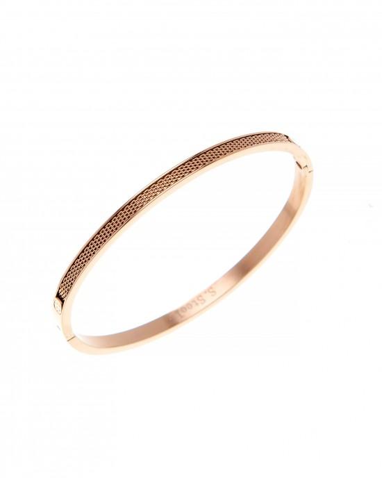 Steel Handcuffs in Rose Gold AJ (BK0128RX)