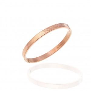 Bracelet-Meander from Steel to Roz Gold AJ (BK0129RX)