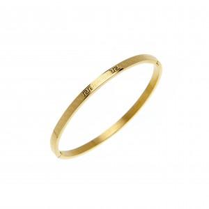 Bracelet-Meander from Steel to Gold AJ (BK0129X)