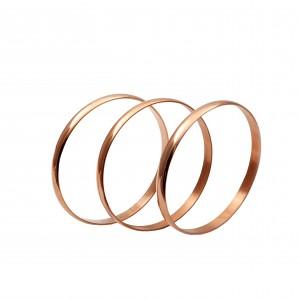 Steel Bars-Bracelets in Rose Gold AJ (BK0139RX)