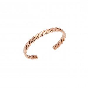 Bracelet-Steel Handcuffs in Rose Gold AJ (BK0153RX)