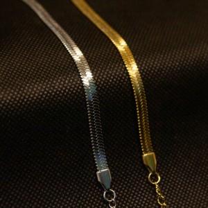 Chain Bracelet from Steel to Silver AJ (BK0159A)