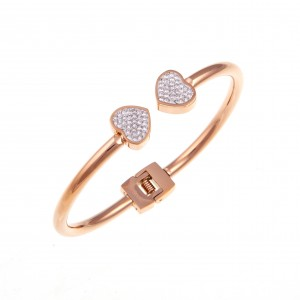 Steel Handcuffs from Steel to Rose Gold AJ (BK0182RX)