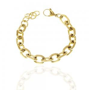 Womens Bracelet from Steel to Yellow Gold AJ (BK0241X)