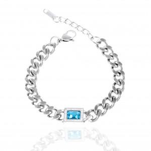 Women's Bracelet-Chain Made of Steel in Silver AJ (BK0253A)