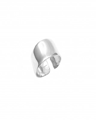 Sterling Silver 925 Ladies' Ring Ring in Silver Color AJ (DA0008A)