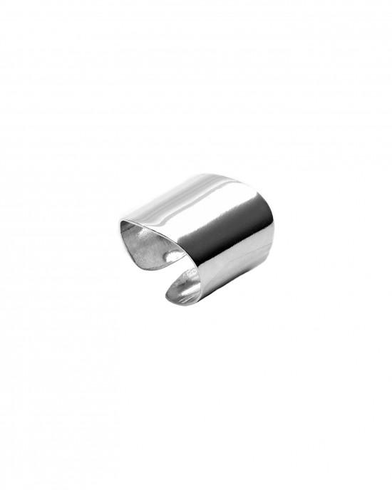 Sterling Silver 925 Ladies' Ring Ring in Silver Color AJ (DA0012A)