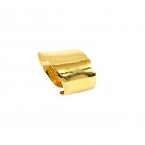 Silver 925 Handmade gold plated Women's Sevalie in yellow Gold AJ (DA0050X)