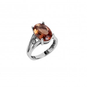 Silver 925-Feminine Feminine Ring with Stone Alexandrite AJ (DA0052) NO 56