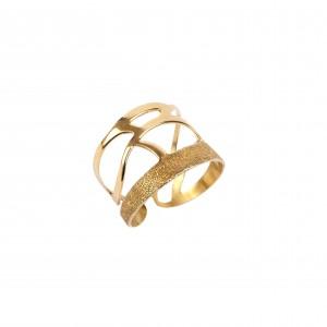 Silver 925 Ring Woman Women's  in Color Yellow Gold AJ (DA0055X)