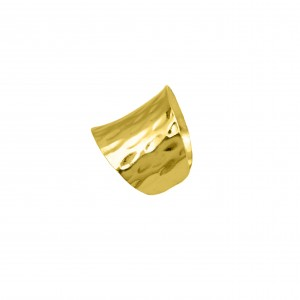 Silver 925-Gold-plated Women's Ring-Cavalier in Yellow Gold Gold AJ (DA0082AX)