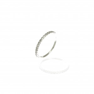 Sterling Silver 925 Ring - Wreath for Women in Silver AJ (DA0099A)