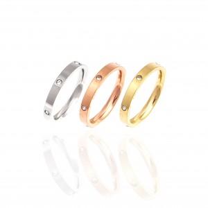 Zircon Ring-Rings in Silver AJ (DK0003RX)