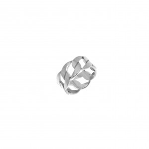 Ring-Chain from Steel to Silver AJ (DK0010A)