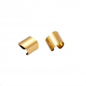 Women's Steel Rings Steel Rings in Gold AJ (DKS0005X)