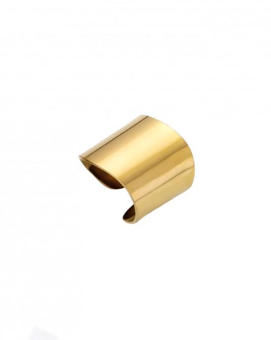 Women's Steel Sevalie Ring in Yellow AJ Gold (DKS0006X)
