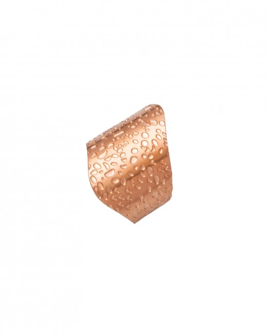Women's Steel Sevalie Ring in Pink Gold AJ(DKS0015RX)