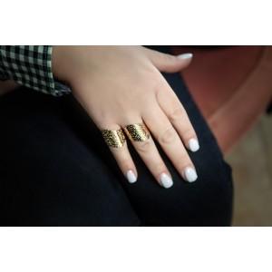 Women's Steel Sevalie Ring in Pink Gold AJ(DKS0015RX)