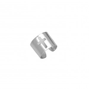 Silver 925 Ring-Sevalie Women's Silver AJ (DAS0092A)