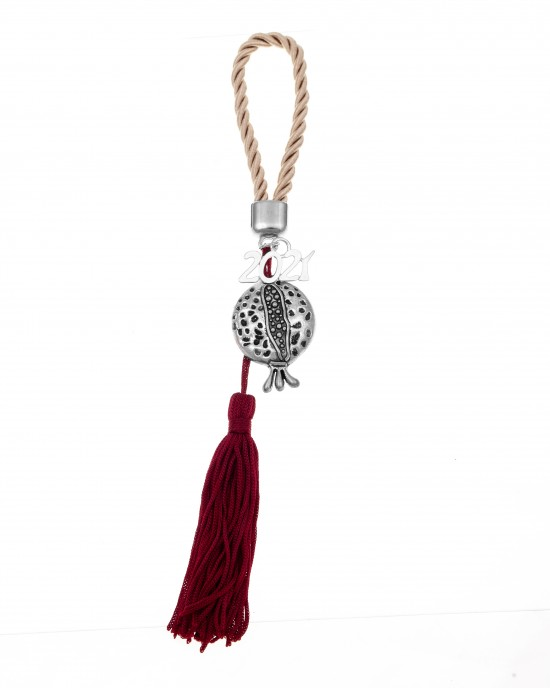 Pomegranate Charm 2021 from Steel to Silver AJ (GA0002)