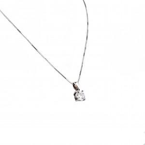Silver 925 Women's Color in Silver Color Petra Zirgon AJ (AK0040A)