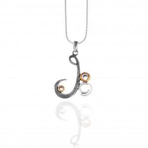 Necklace Silver 925 Women Handmade in Silver AJ (KA0122A)