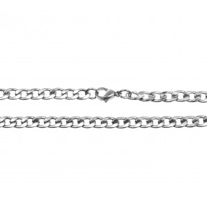 Men's Neck Chain from Surgical-Stainless Steel in Silver AJ Color (KKA0092A)