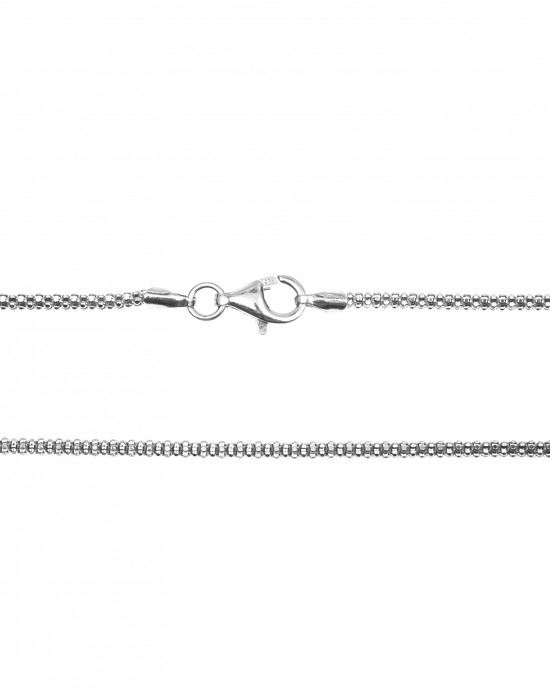 Men's Neck Chain from Surgical-Stainless Steel in Silver Color AJ (KK0093A)