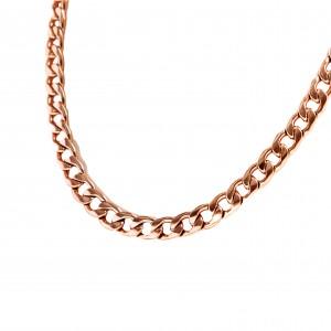 Women's Necklace in Steel in Rose Gold AJ (KK0131RX)