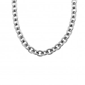 Chain-Necklace from Steel to Silver AJ (KK0174A)