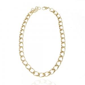 Women's Steel Necklace in Gold AJ (KK0298X)
