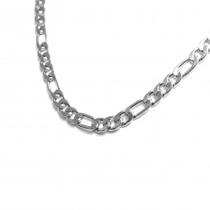 Stainless Steel Necklace in Silver AJ (KK0101A)