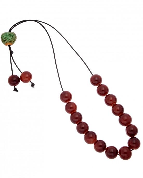 Rosary with Onyx Stones AJ (KOM0014)