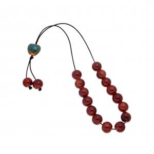 Rosary with Onyx Stones AJ (KOM0015)