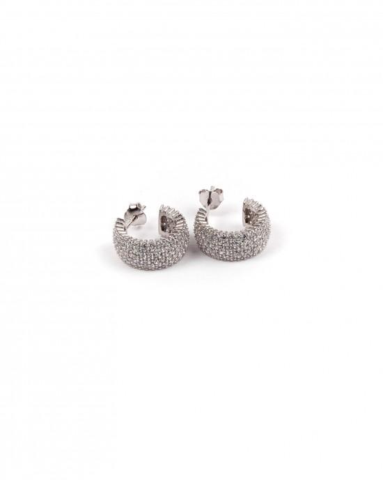 Sterling silver 925 earrings with zircon stones
